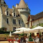 Lunch at Chateau des Milandes