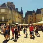 The medieval town of Sarlat