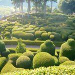 Beautiful gardens of Marqueyssac