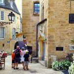 Medieval Sarlat's side streets
