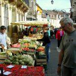 Local markets 7 days a week