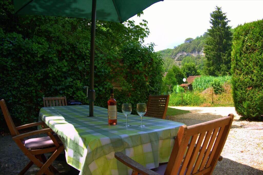 Relais Roches - Maison Verte - Terrace